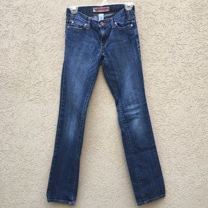 Gap Womens Straight Fit Jeans Size 0 Regular
